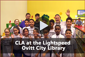 CLA at the Lightspeed Ovitt City Library - Video