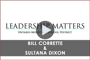 Leadership Matters Video - Bill Corrette & Sultana Dixon