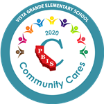 2020 PBIS Community Cares Award Vista Grande