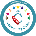 2020 PBIS Community Cares Award De Anza