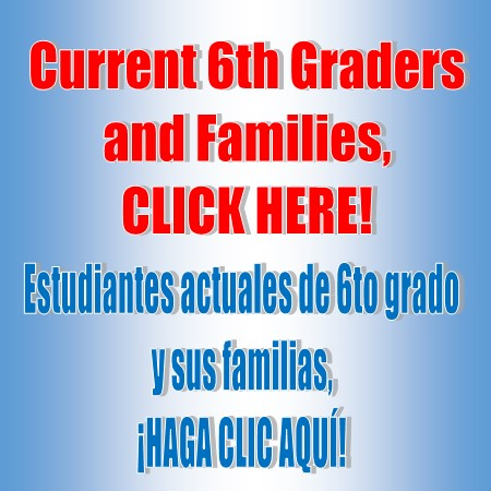 Click for information for incoming 6th Graders