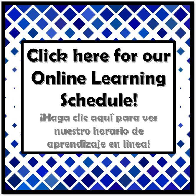 Online Learning Schedule Button