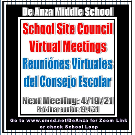 Click for School Site Council Information