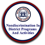 Nondiscrimination in District Programs & Activities Policy