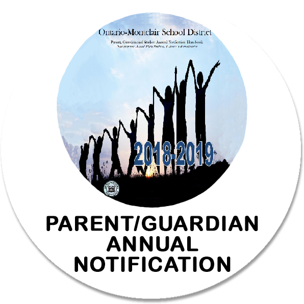 Parent/Guardian Annual Notification