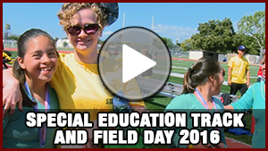 Special Education Track and Field Day 2016