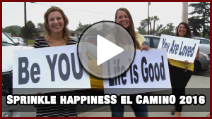 Sprinkle Happiness At El Camino 2016
