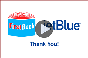 VIDEO: Jet Blue & First Book - Share the importance of reading with Wiltsey Middle School