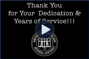 OMSD Celebrates Employees with 25 & 40 Years of Service!