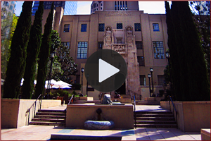 Hawthorne visits the Los Angeles Library - Video
