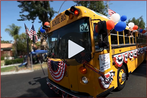 Ontario-Montclair School District at the City of Ontario's Independence Day Parade Video