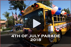 Ontario-Montclair School District at the City of Ontario's Independence Day Parade