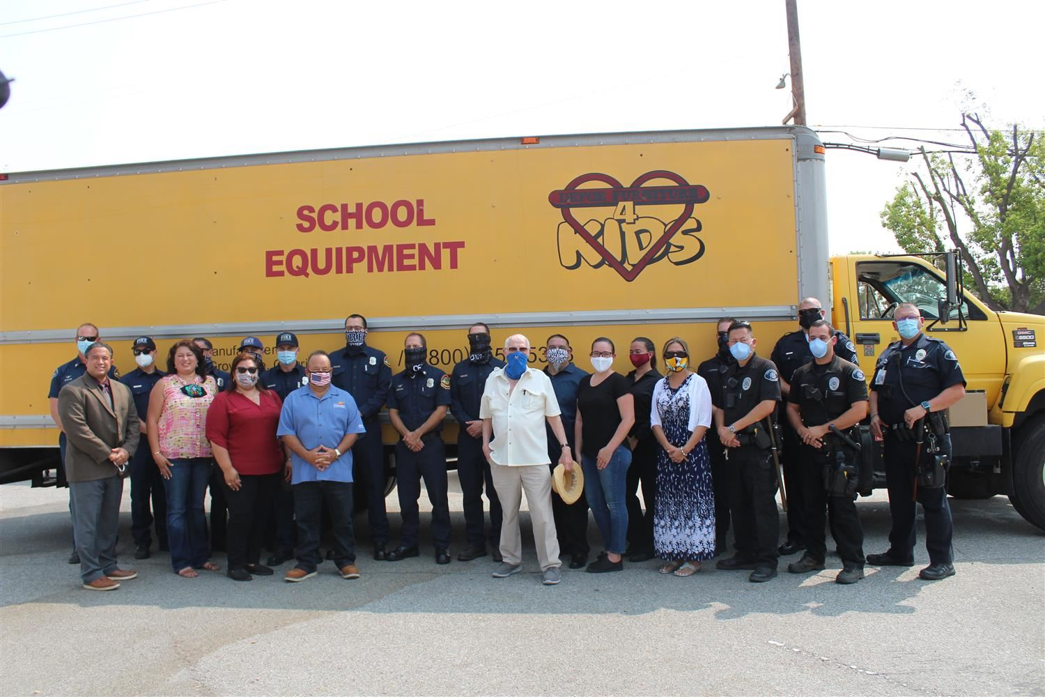 The Amazing OMSD Community Standing Together to Donate the Student Desks.