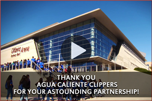 The Agua Caliente Clippers & OMSD have an astounding partnership on the court and in the classroom!