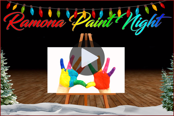VIDEO: Highlights of the Ramona Paint Night!