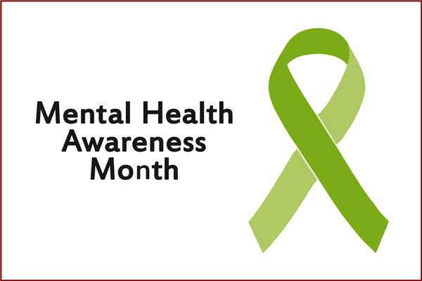 The Month of May is National Mental Health Awareness Month