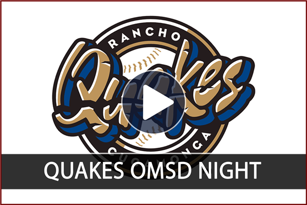 Quakes - Ontario-Montclair School District Night! Click below to watch the highlight video.