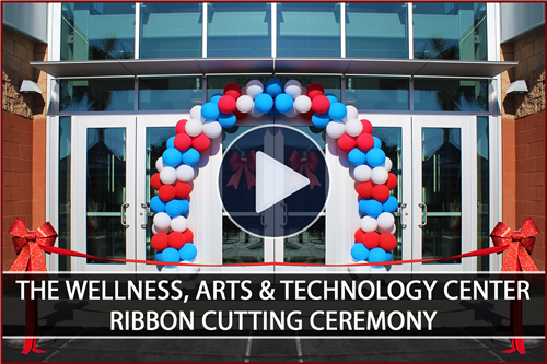 The Wellness, Arts & Technology Center - Ribbon Cutting Ceremony Video