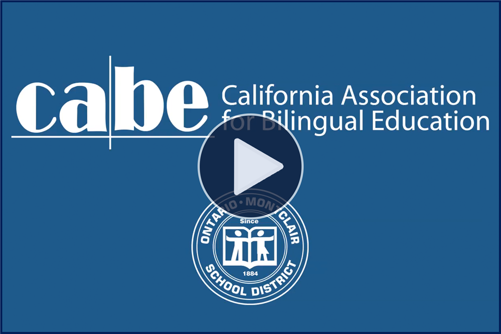 California Association for Bilingual Education - Parent of the Year!