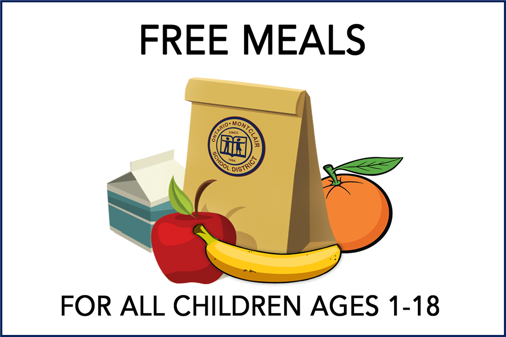 OMSD - Free Meals for All Children Ages 1-18 - Keep Checking Back for Updates