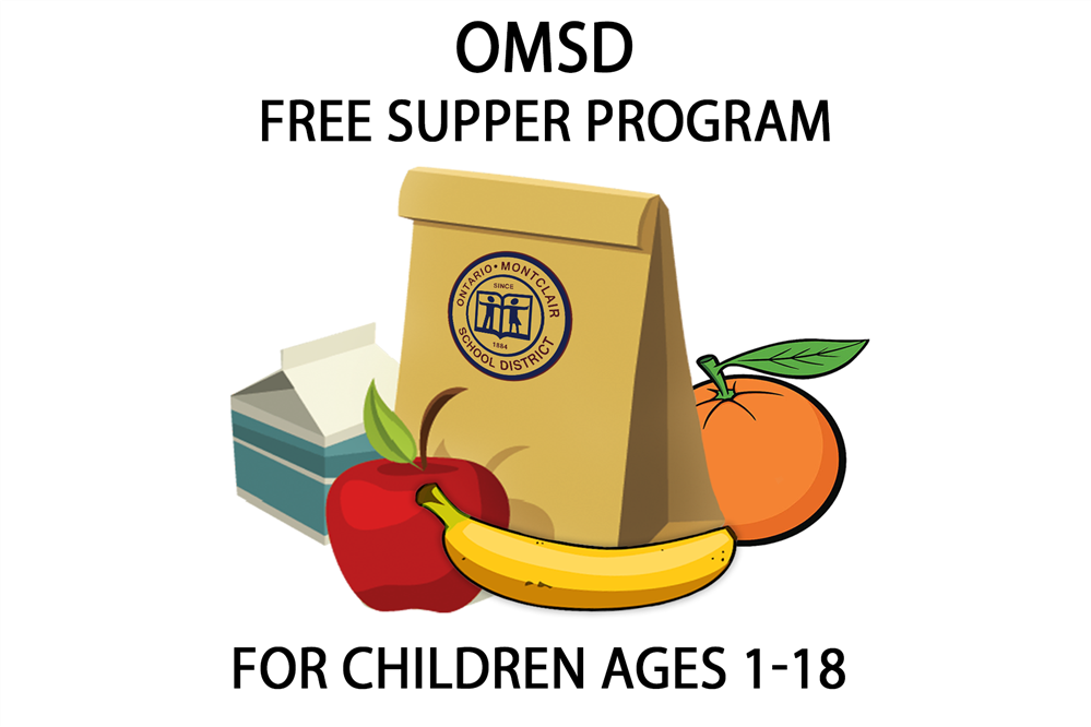 OMSD Free Breakfast & Lunch Program for Children Ages 1-18 - Keep Checking Back for Updates