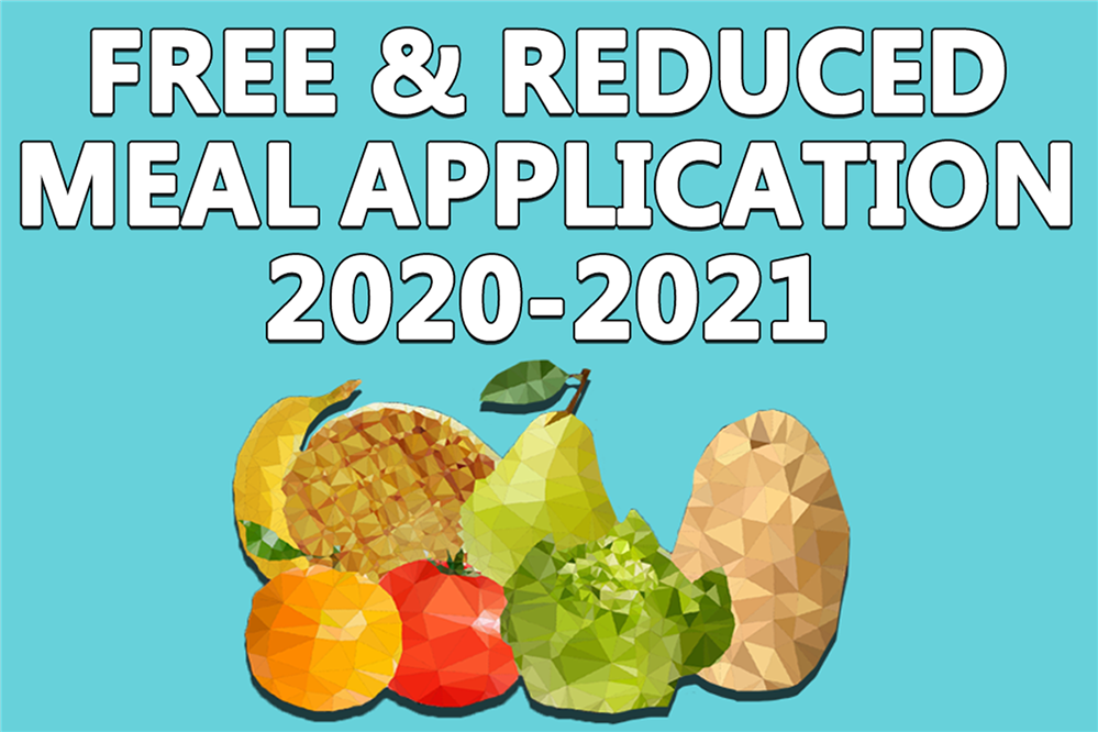 Free & Reduced Meal Application 2020-2021
