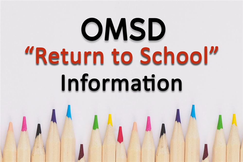 "Important Communication from Superintendent Dr. James Q. Hammond regarding ""Return to School"""