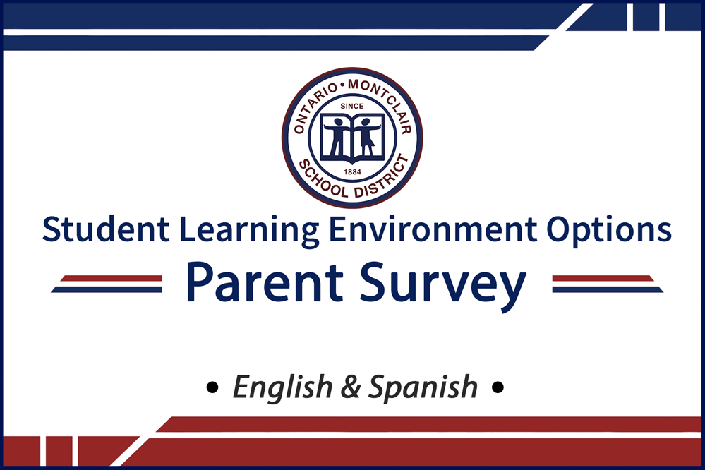OMSD Student Learning Environment Options - Parent Survey - Click Here to Begin.