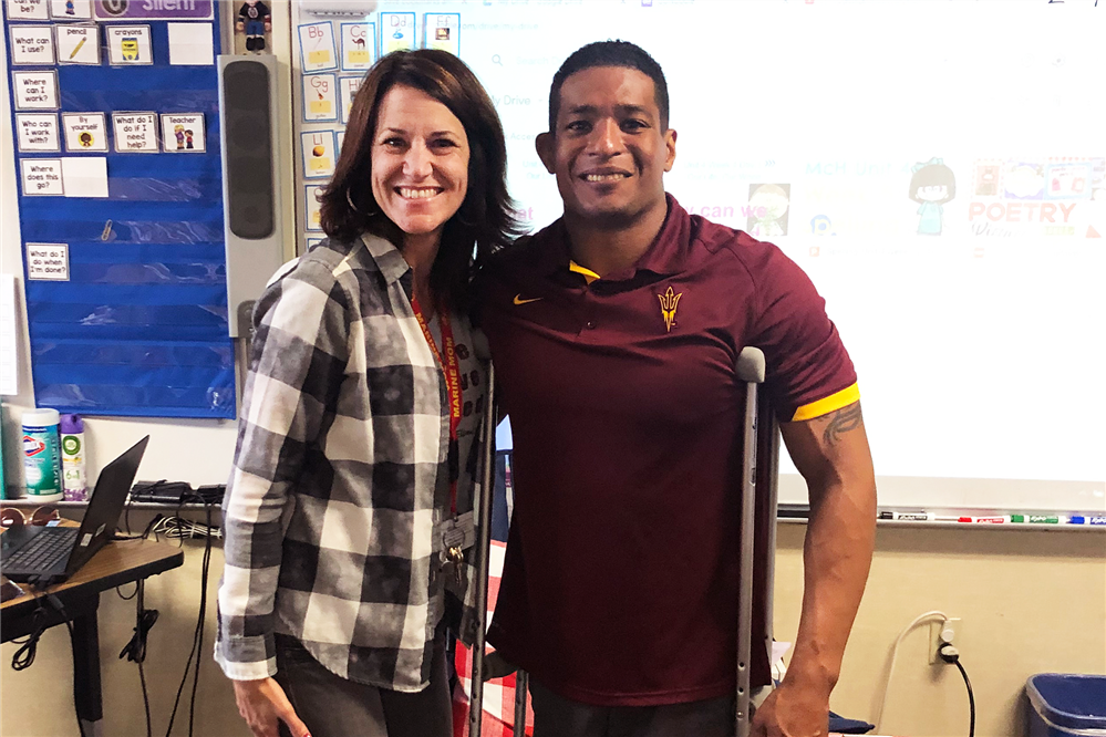 NCAA Wrestling Champion - Anthony Robles inspires and encourages OMSD Students to be Unstoppable!