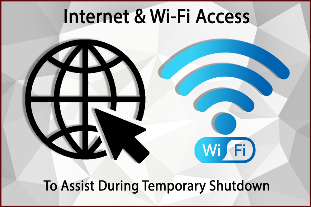 Internet & WiFi Access- Click here for more information.