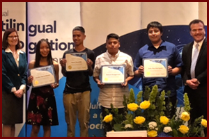 OMSD students recognized at Multilingual Recognition Dinner