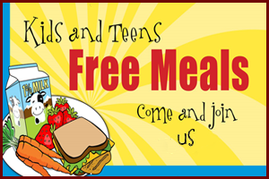 Free Summer Meals for children ages 1-18