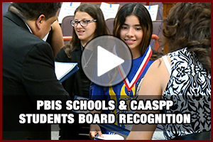 PBIS & CAASPP Recognition Video
